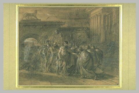 Marius rentrant dans Rome