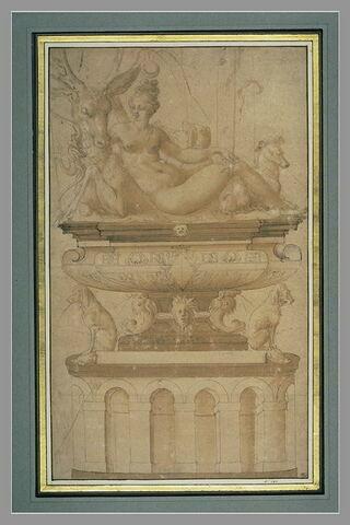 La Fontaine de Diane au château d'Anet