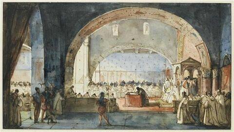 Le Chapitre de l'Ordre du temple (1147)