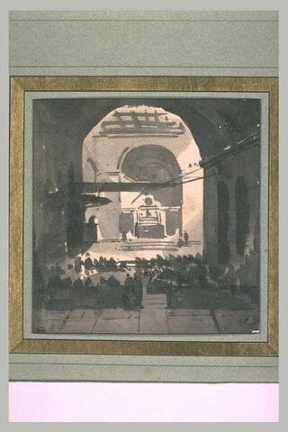 Sermon dans l'église Santa Maria sopra Minerva à Rome