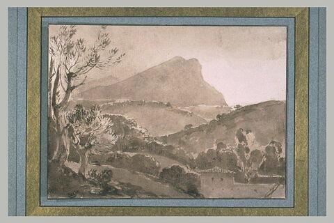 La montagne de Sainte Victoire près d'Aix-en-Provence