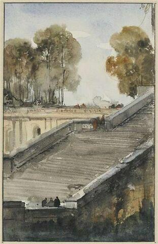 Escalier de l'Orangerie de Versailles