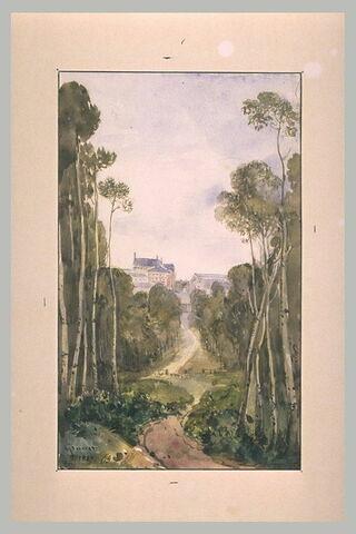 Vue de Versailles depuis les alentours