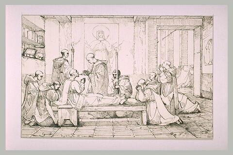 L'extrême onction, 1844