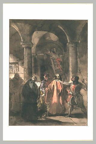 La mort du Président Brisson en 1591 (?)