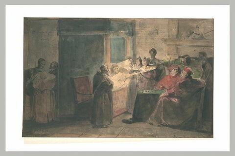La mort de Marie de Médicis en 1642 : elle donne ses bijoux à Mlle Savoge