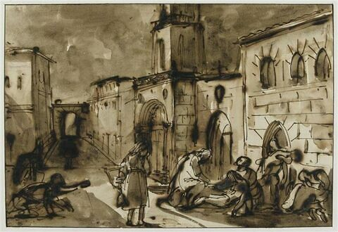 La peste à Aix en 1720