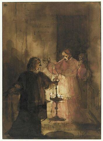 Nicolas Poussin et le cardinal Massimi