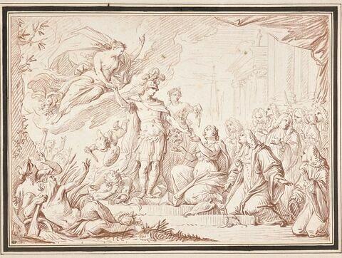 La paix d'Aix-la-Chapelle en 1748