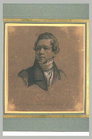 Portrait de David d'Angers, statuaire