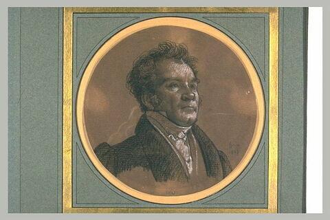 Portrait de M. Watelet, peintre