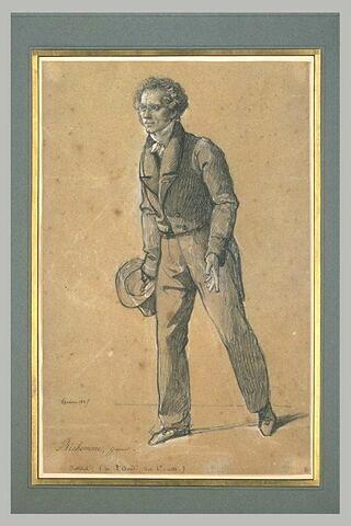 M. Richomme, graveur, de l'Institut, en costume civil