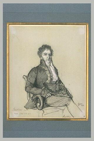 Boieldieu, compositeur, en costume d'académicien