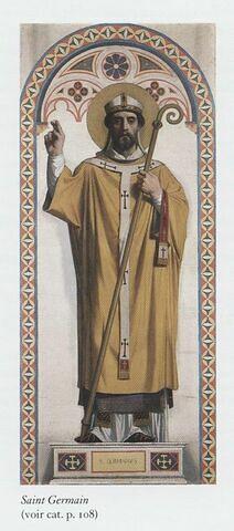 Saint Germain, évêque de Paris