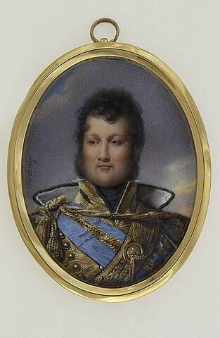 Buste de Louis Philippe en uniforme de colonel de hussards