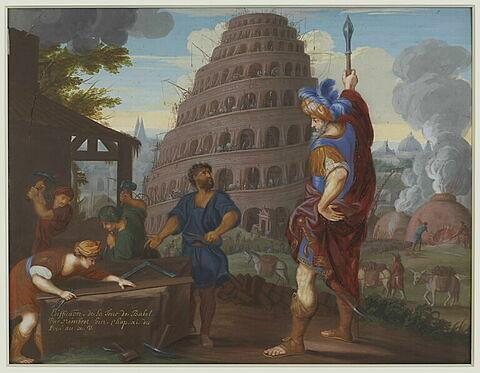 Edification de la tour de Babel