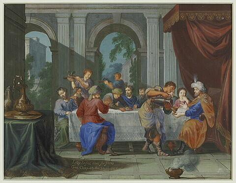 Joseph dîne avec ses frères
