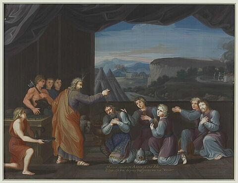 Moïse consacre Aaron