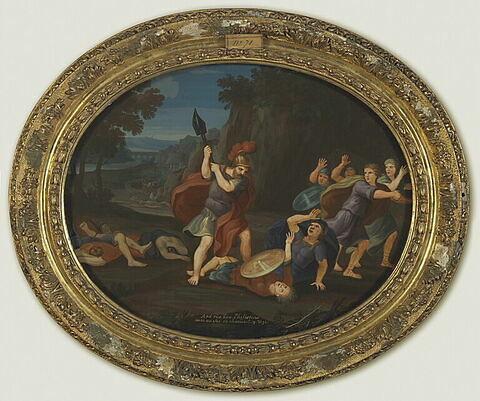 Samgar fils d'Anath tue six cents Philistins avec un soc de charrue