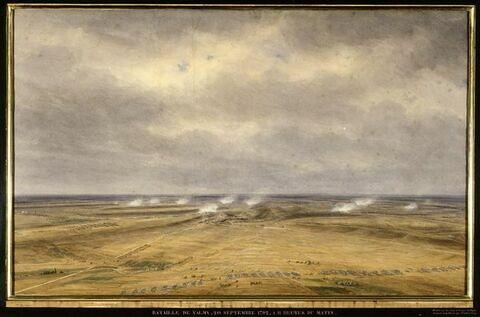 La bataille de Valmy, 20 septembre 1792, 11 heures du matin