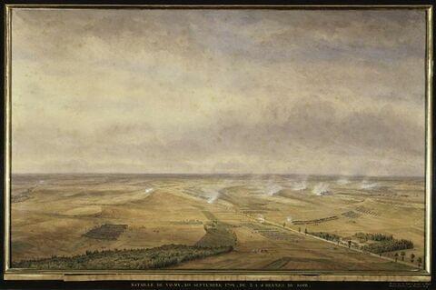 La bataille de Valmy, de trois à quatre heures du soir