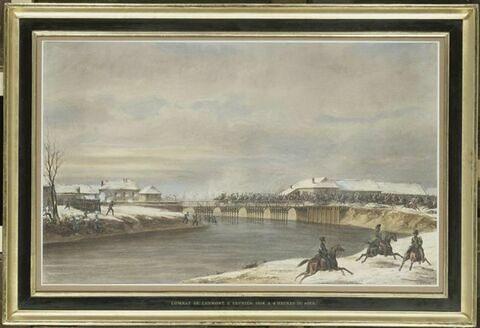 Le combat de Lesmont, 2 février 1814