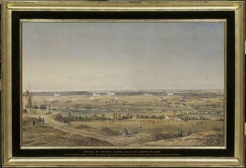 La bataille de Toulouse, le 10 août 1814 vers neuf heures du matin