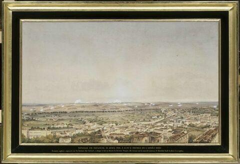 La bataille de Toulouse, le 10 avril 1814 vers cinq heures de l'après-midi
