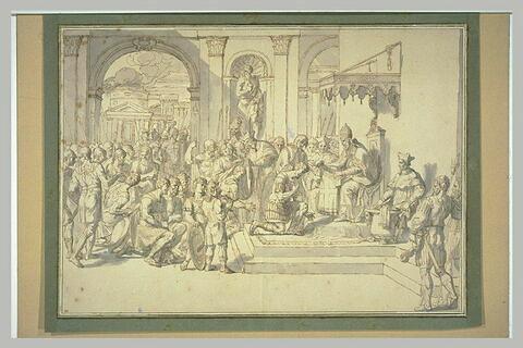Raymond IV, comte de Toulouse prenant la croix