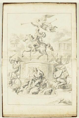 Monument triomphal en l'honneur d'un guerrier