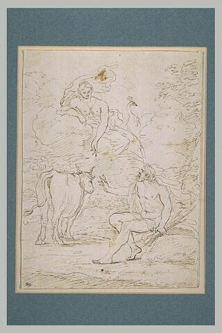 Junon demandant à Jupiter de lui ofrir Io