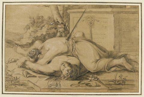 Mort de Pyrame et Thisbé