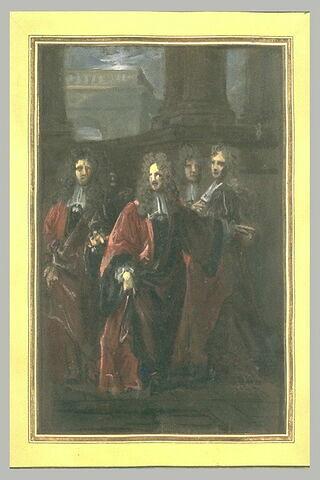 Quatre magistrats