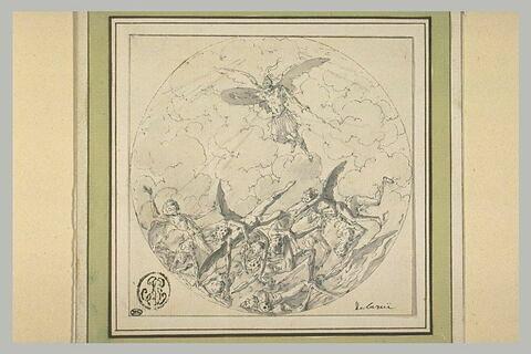 Saint Michel chassant les anges rebelles
