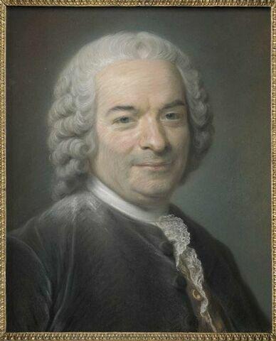 Portrait de Jean Baptiste Siméon Chardin, peintre (1699-1779).