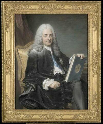 Portrait de Philibert Orry, comte de Vignory ( 1689-1747).