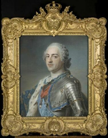Portrait de Louis XV (1710-1774); roi de France.