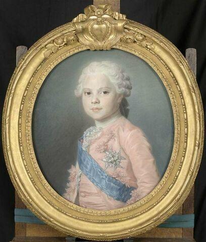 Portrait de Louis Stanislas Xavier de France, comte de Provence, futur Louis XVIII ( 1755-1824)