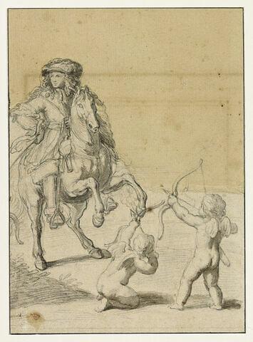 Louis XIV et deux amours