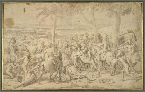 Alexandre et Porus ou La Défaite de Porus