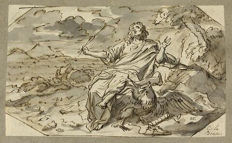 Saint Jean dans l'île de Patmos