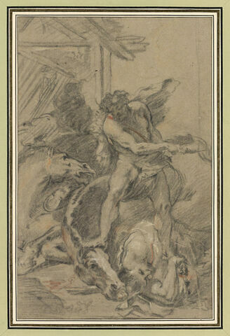 Hercule terrassant Diomède