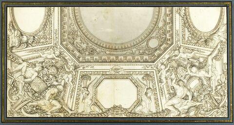 Projet pour un décor de plafond