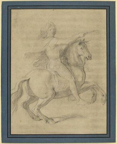 Louis XIV à cheval