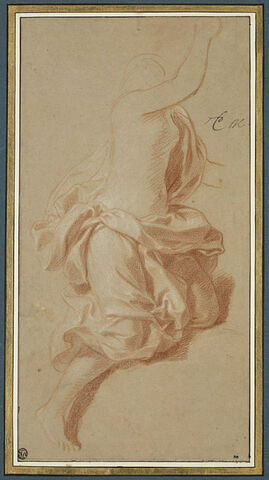Femme drapée, tournée vers la droite
