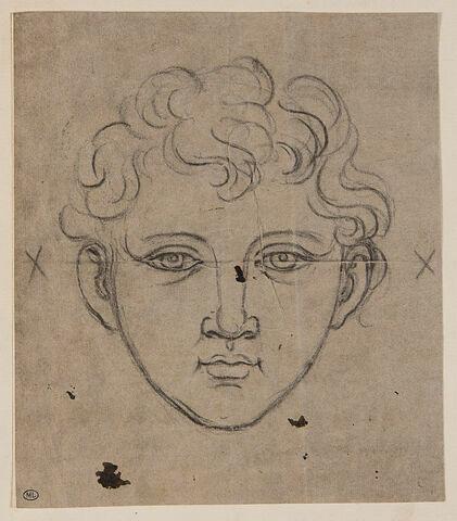 Tête de Marc Aurèle jeune