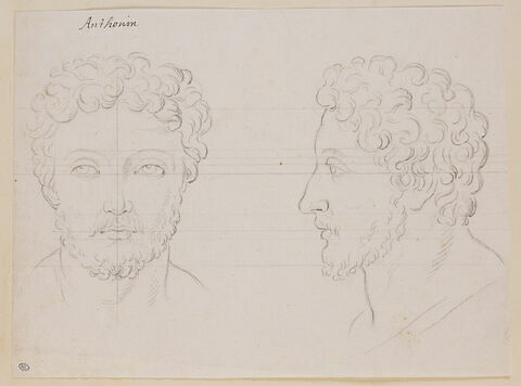 Deux têtes de Marc Aurèle