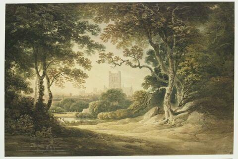 La cathédrale de Hereford en Irlande