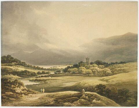 Le château de Dunloe, lac supérieur de Killarney