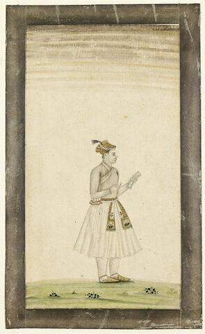 Portrait d'un jeune prince indien